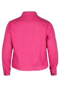 Zizzi - Denim jacket - pink - 5