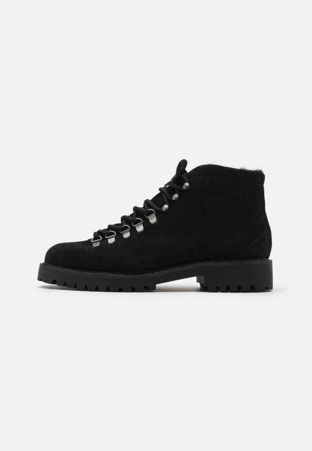 SEAN LOW HIKER - Bottines à lacets - black