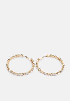 YBOETHA - Earrings - clear/gold-coloured
