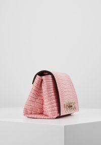 Guess - UPTOWN CHIC MINI XBODY FLAP - Across body bag - pink - 4