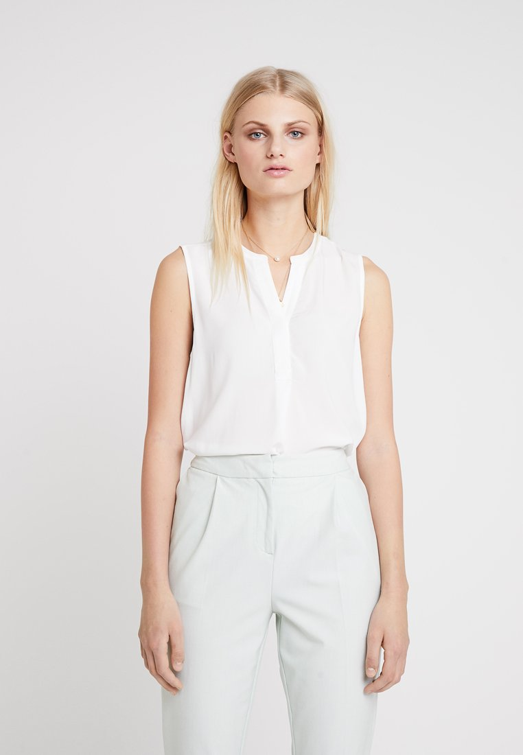 Part Two - SARAH - Blouse - bright white