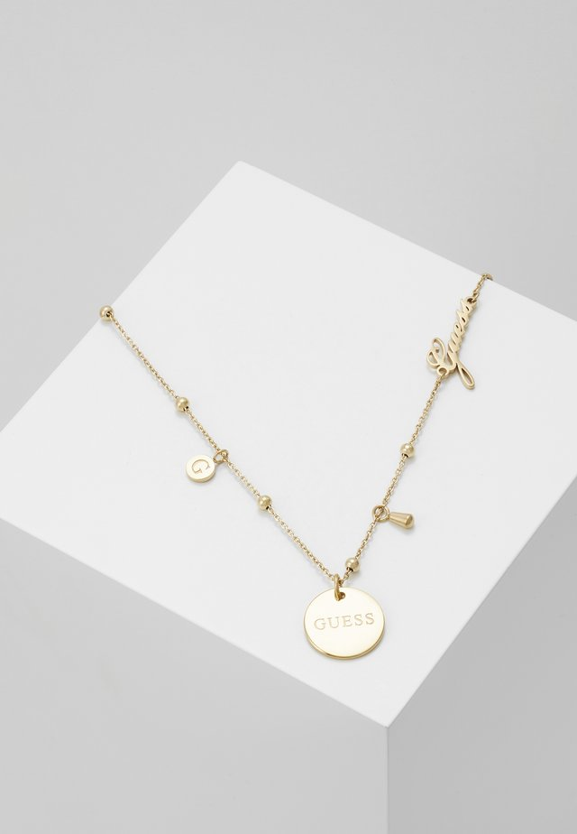 PEONY ART - Collier - gold-coloured