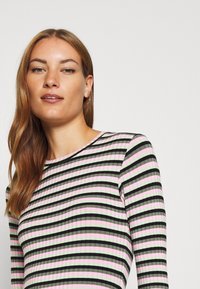 Mads Nørgaard - TUBA STRIPE - Long sleeved top - multi green - 4