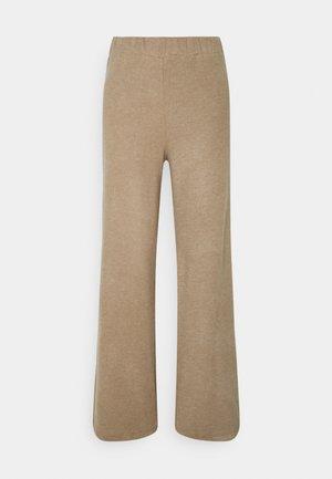 VMKINSEY PANT - Pantalon classique - sepia tint melange