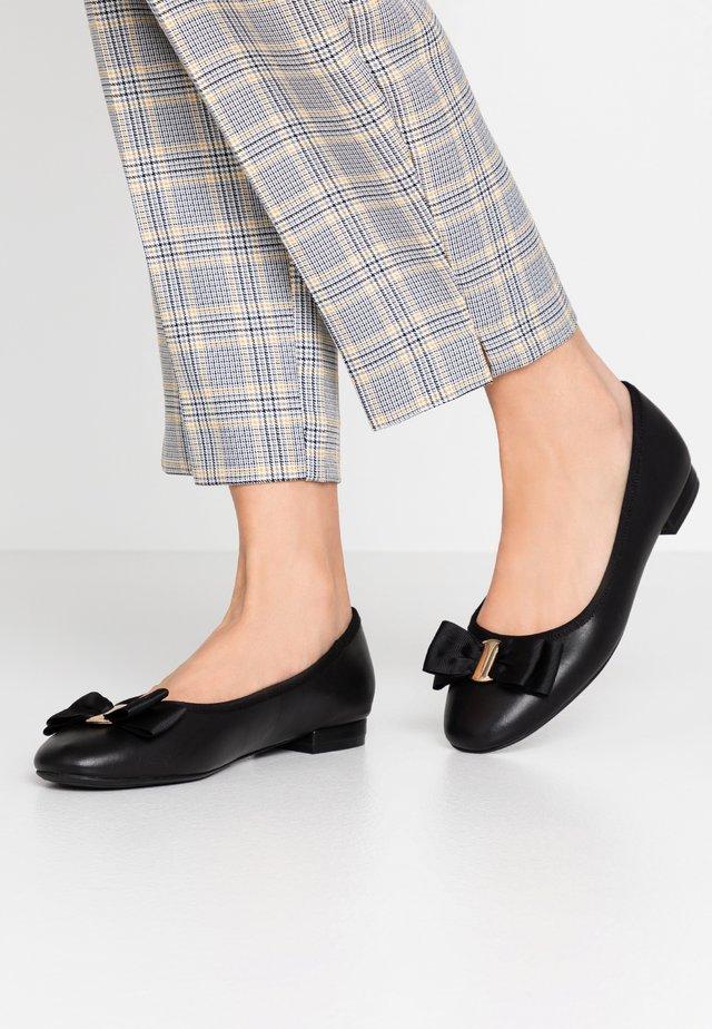 KERRIA - Ballet pumps - black