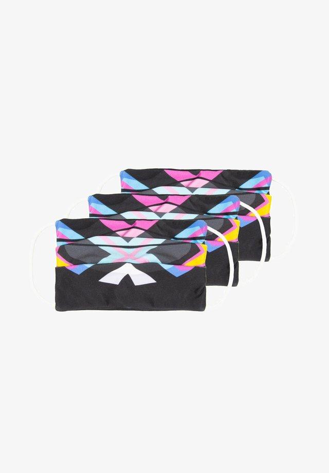 3ER-PACK - Stoffen mondkapje - mehrfarbig