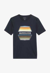 Quiksilver - DRIFT AWAY - T-shirt print - navy blazer - 2
