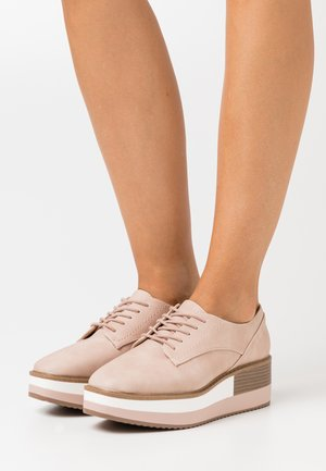 SANSA - Lace-ups - light pink
