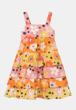 RUFFLE DRESS - Jurk - multi-coloured