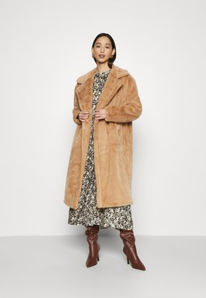 VMSAFIA LONG JACKET - Classic coat - tobacco brown