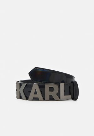 LETTERS BELT - Riem - black
