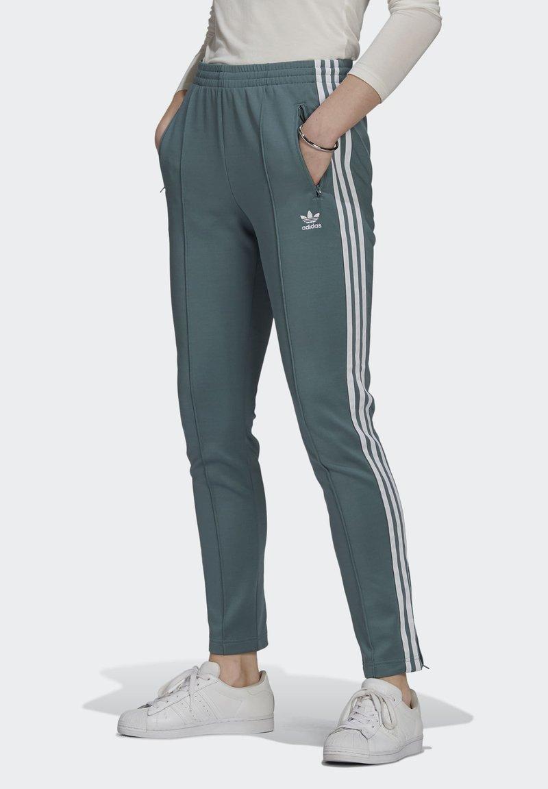 adidas Originals - PANTS - Tracksuit bottoms - hazy emerald