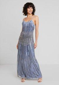 Lace & Beads - DULCE MAXI - Společenské šaty - blue - 1