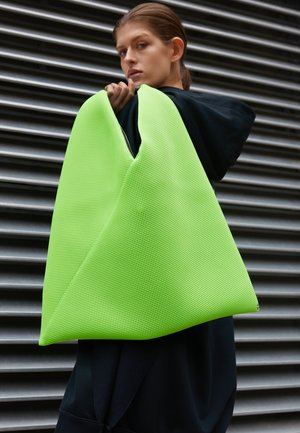 JAPANESE BAG CLASSIC - Shoppingveske - acid green