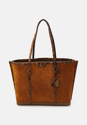 PERRY EXOTIC TRIPLE COMPARTMENT TOTE - Cabas - assam