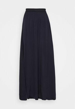 FORGET - Maxi skirt - dark navy