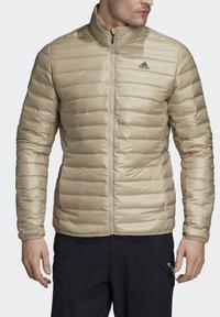 adidas Performance - VARILITE OUTDOOR DOWN - Down jacket - beige - 5