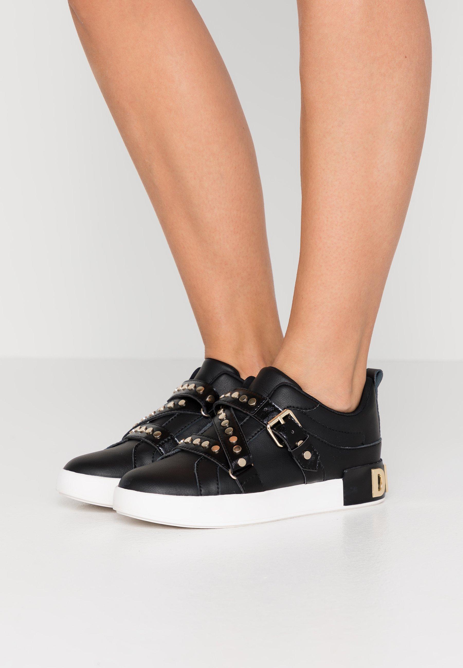 Gutes Angebot DKNY STUDZ BANDS - Sneaker low - black | Damenbekleidung 2020