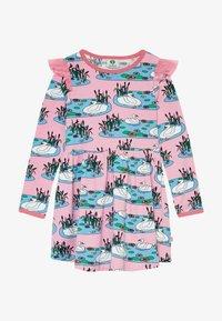 Småfolk - DRESS SWAN - Jersey dress - sea pink - 3