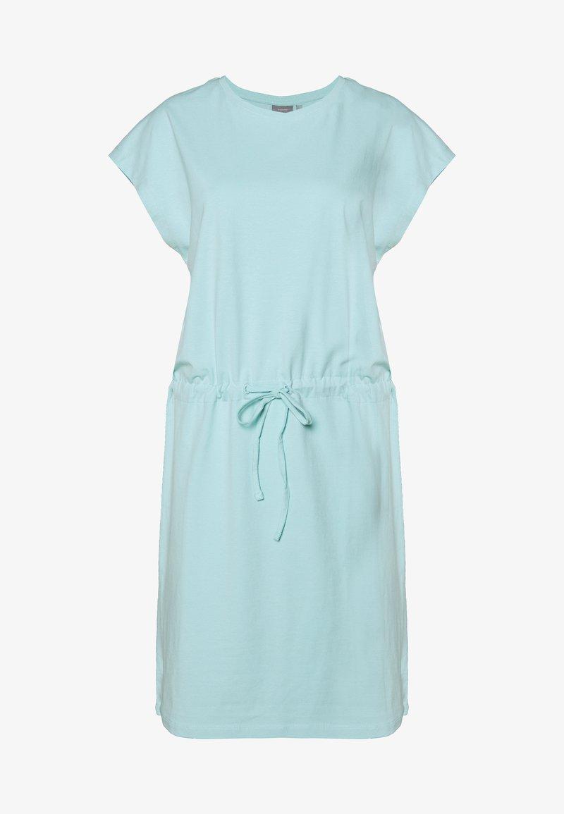 b.young - BYPANDINA ONECK DRESS - Žerzejové šaty - ocean blue