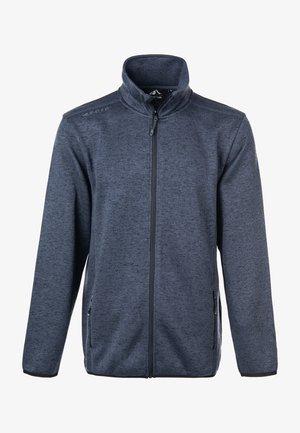 PAREMAN - Fleece jacket - 1011 dark grey melange