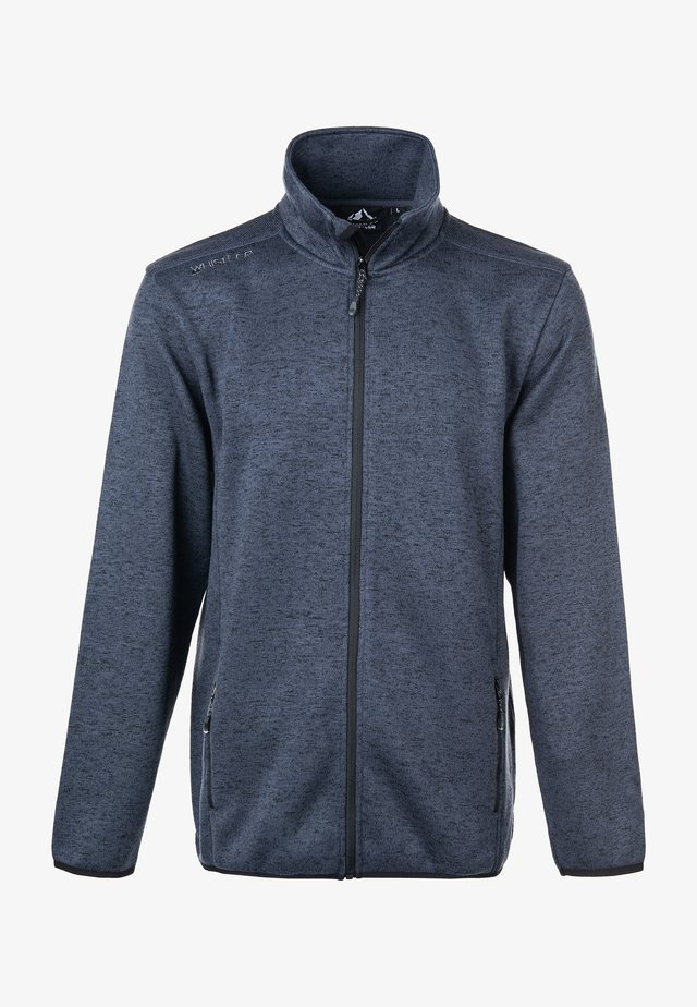 PAREMAN - Fleece jacket - 1011 dark grey melange