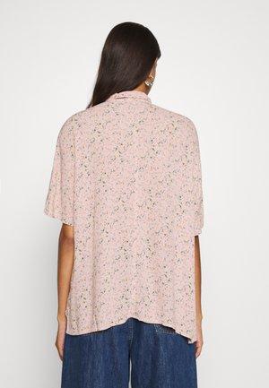 CORE CREPE  - Button-down blouse - blush
