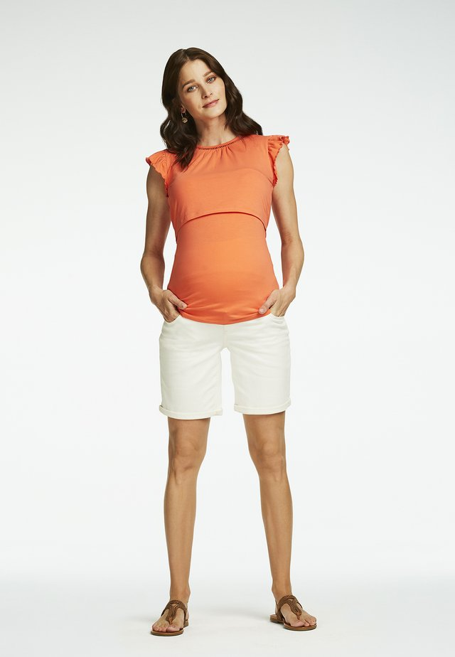 Jeans Shorts - snow white