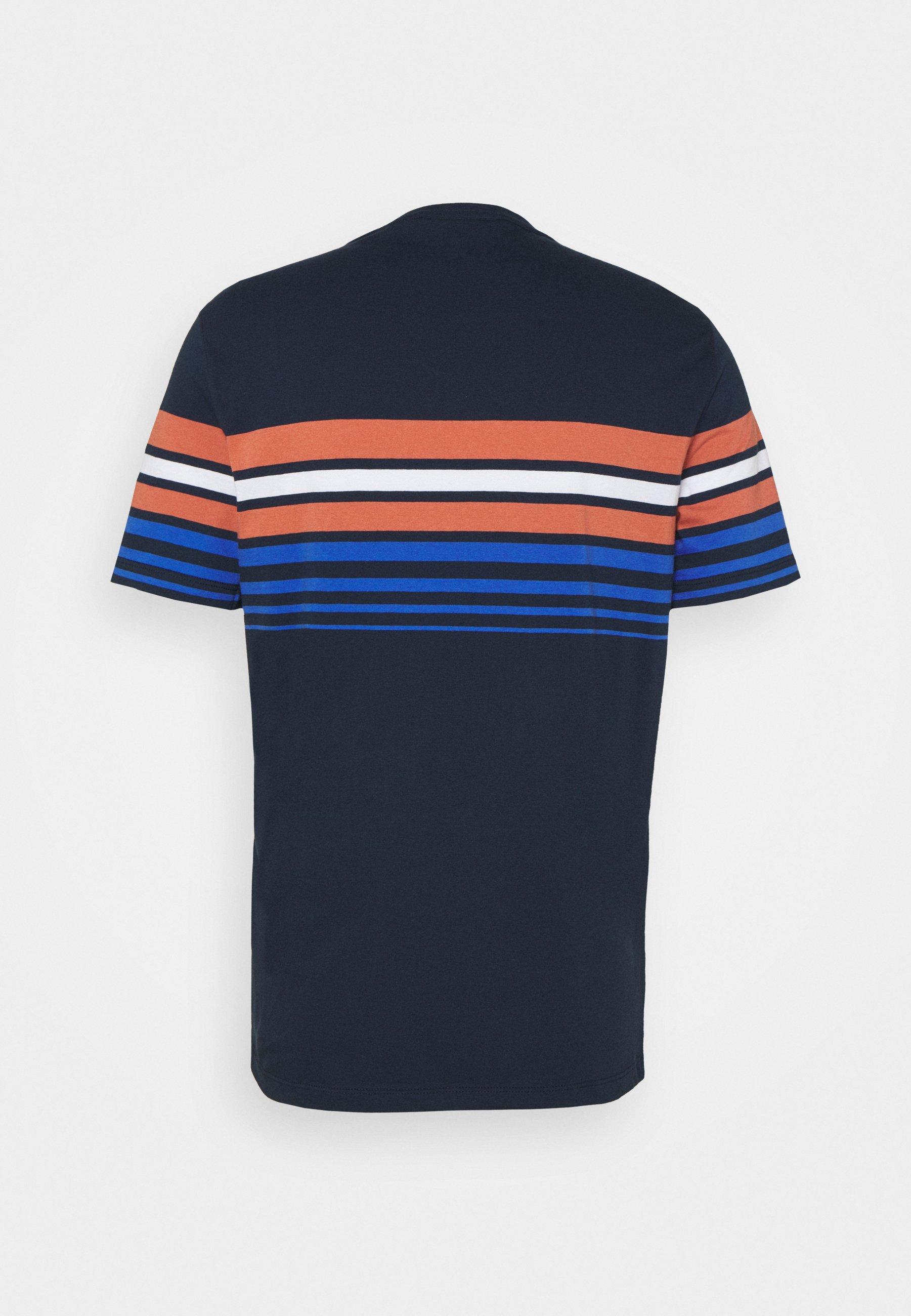 Homme SUNSET STRIPE TEE - T-shirt imprimé