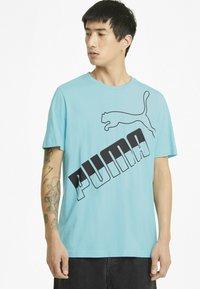 Puma - Print T-shirt - blue - 0