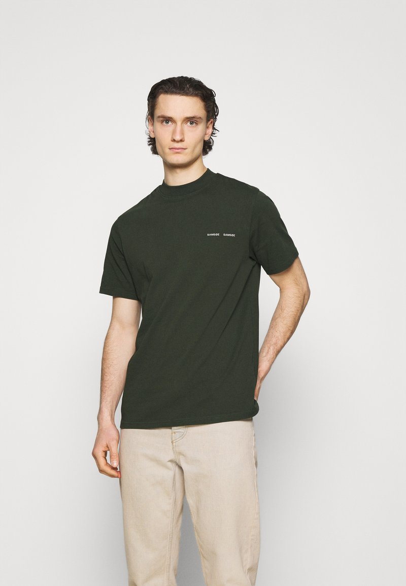 Samsøe Samsøe - NORSBRO - Camiseta estampada - kambu green