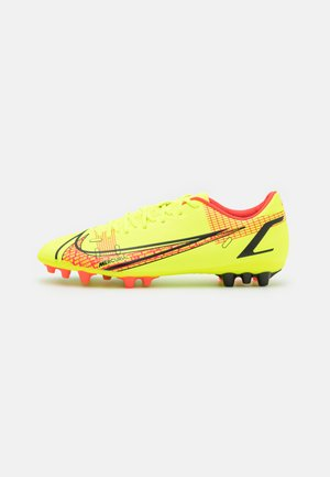 MERCURIAL VAPOR 14 ACADEMY AG - Moulded stud football boots - volt/bright crimson