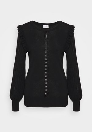 SLEEVE - Jumper - black
