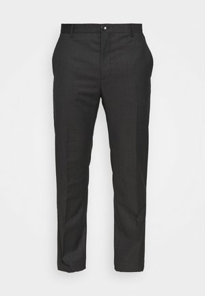 TWILL STRUCTURE PANT - Trousers - dark grey heather