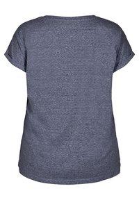 Zizzi - T-shirts - dark blue - 5