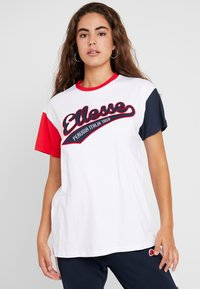 Ellesse - DAKOTA - Print T-shirt - white - 0