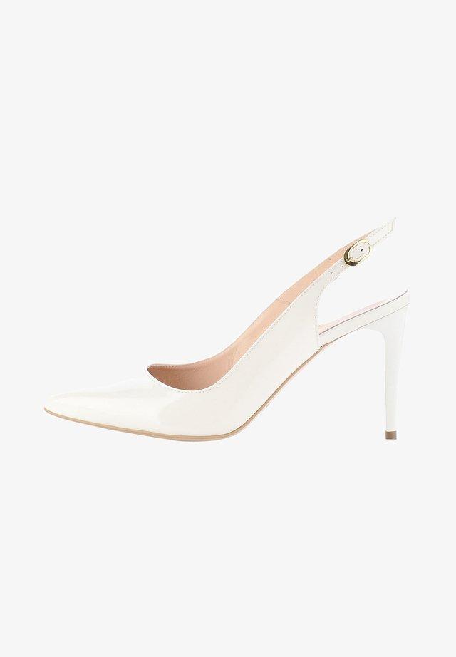 PAMPURO - High heels - white