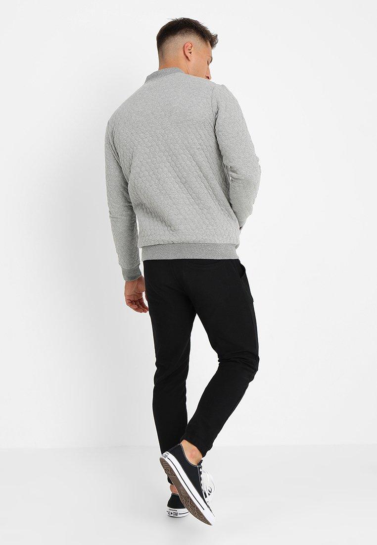 Zign Bomberjacke mottled grey/graumeliert