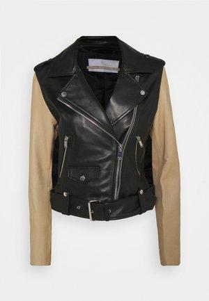 HUMPHREY - Kožená bunda - black