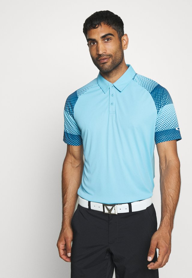 DOT SLEEVES - Poloshirt - aviator blue