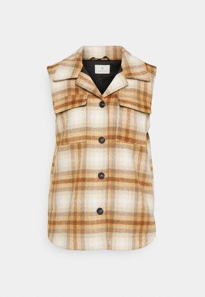 KALIROMA WAISTCOAT - Waistcoat - brown