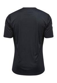 Hummel - CORE - Print T-shirt - black - 3