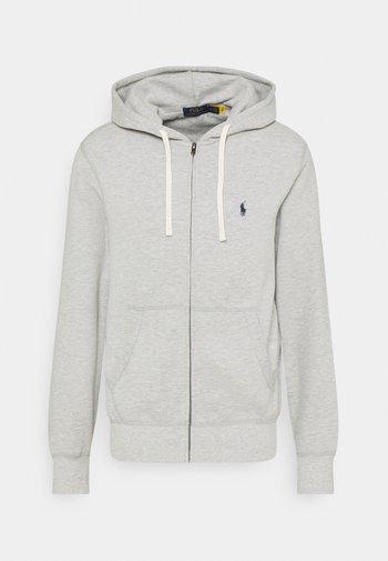 HOOD LONG SLEEVE - Zip-up sweatshirt - andover heather