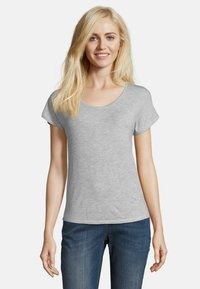 Betty & Co - Basic T-shirt - light silver melange - 0