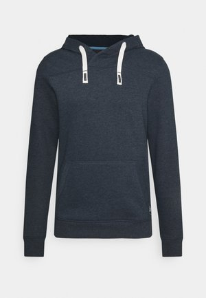 CUTLINE HOODY - Huppari - sky captain blue/white melange