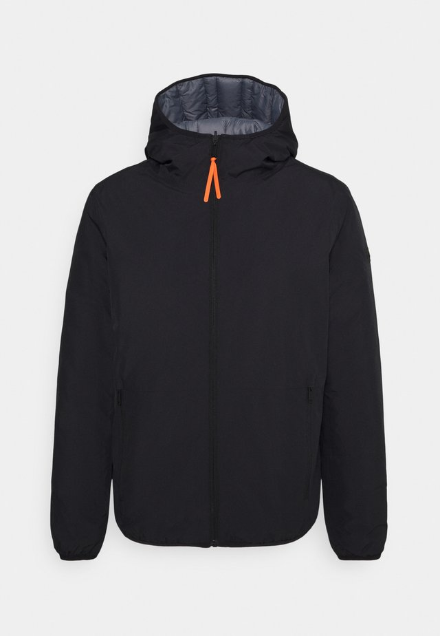 MAN JACKET FIX HOOD - Outdoorová bunda - nero
