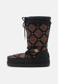 River Island - KIM QUILTED  - Winter boots - black - 1