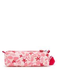 Kipling - Pencil case - pink leaves - 1