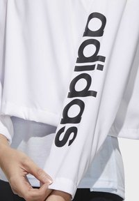 adidas Performance - ACTIVATED TECH WINDBREAKER - Windbreaker - white - 8