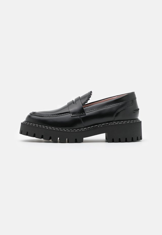 MATTER - Loaferit/pistokkaat - black